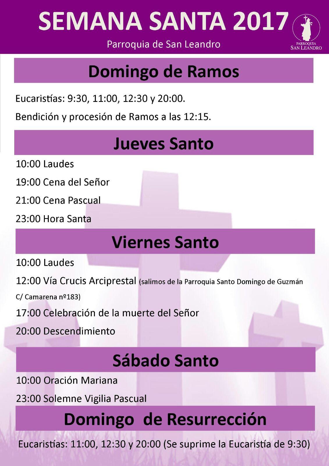 horarios_semana_santa_2017